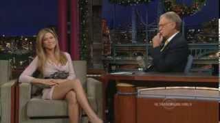 Jennifer Aniston - Letterman