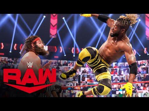 The New Day vs. Elias & Jaxson Ryker: Raw, April 12, 2021