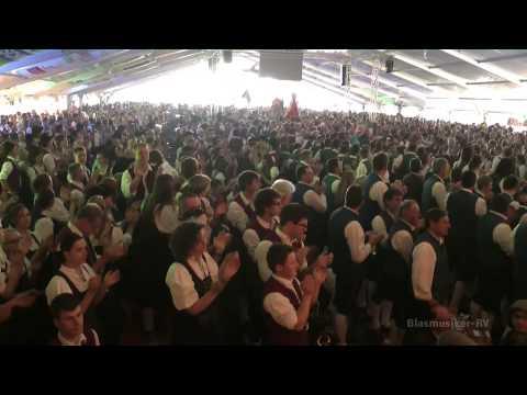 Musikfest Amtzell - Fahneneinmarsch