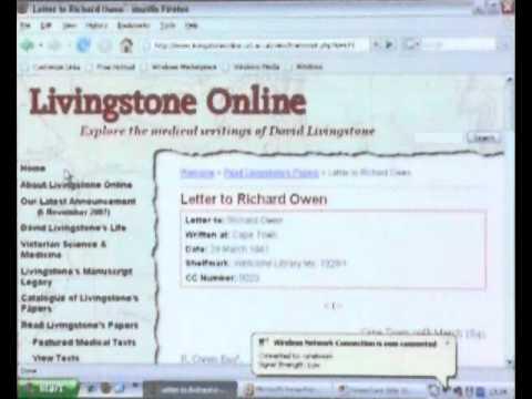 'Dr Livingstone I Presume' - David Livingstone online