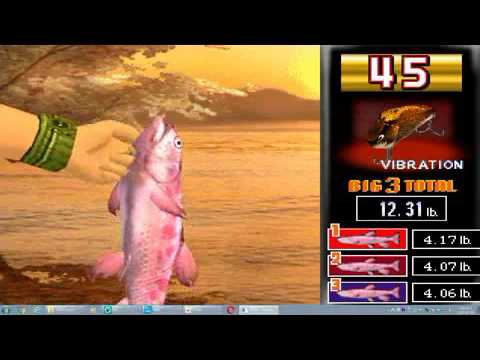 Ps1 Emulator Fisher Man S Bait2 World Monster Fishing Game Play Youtube