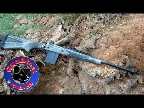 Shooting The NEW Ruger GSR556 5.56x45mm Bolt-Action Gunsite Scout Rifle - Gunblast.com