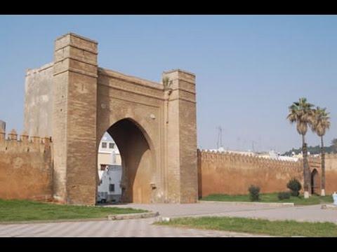 Bab Lamrissa & Murailles de Salé Morocco   باب لمريسة و أسوار مدينة سلا