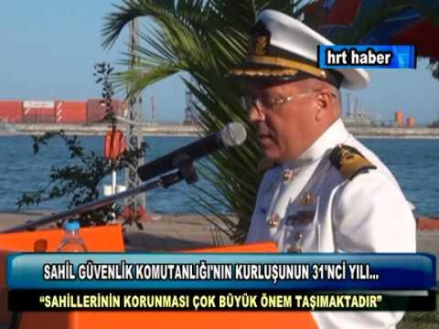 SAHİL GÜVENLİK KOMUTANLIĞI'NIN KURLUŞUNUN 31'NCİ YILI...