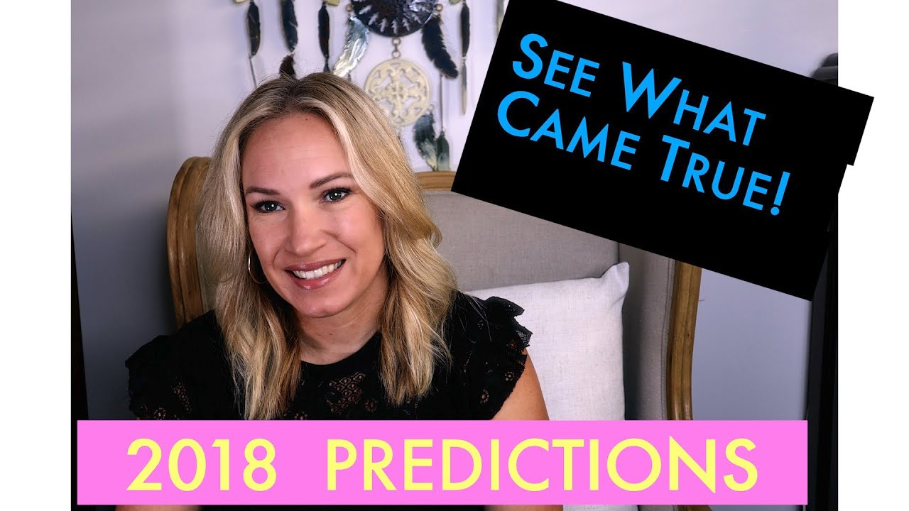 🔮2018 Predictions What Came True!💰Bitcoin, Trump, US & China