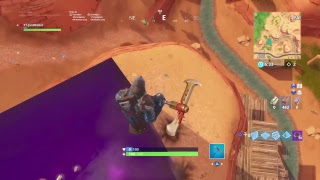 Fortnite [BR]New ROADTRIP skin reveal /giant purple pox in desert !!!!!!!!!!