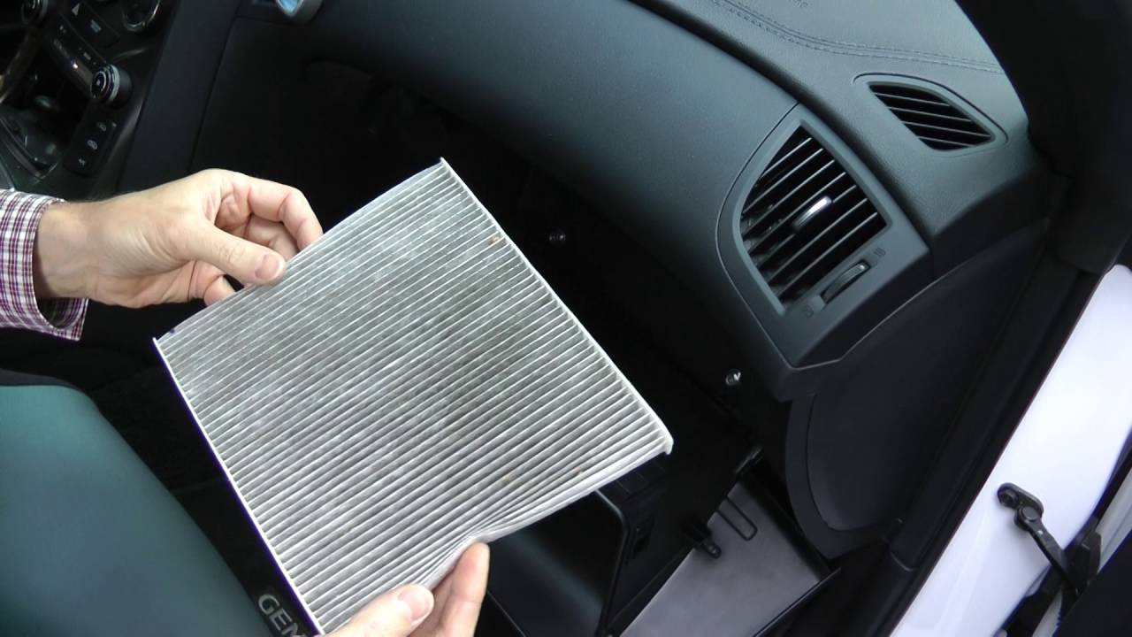 2016 Hyundai Genesis Coupe >> Hyundai Genesis Coupe (2008 - 2016) - Cabin Air Filter ...