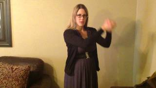 The Family is of God (with music) - ASL - sign language