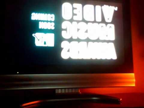 MTV VMA'S UK/IRELAND ADVERT 2010
