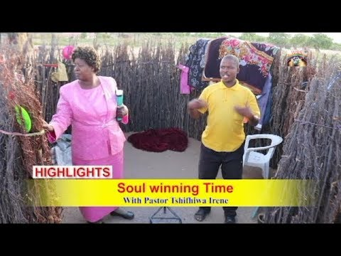 Botswana Kaudwane Kgalagadi   Soul winning Time with Pastor Tshifhiwa Irene