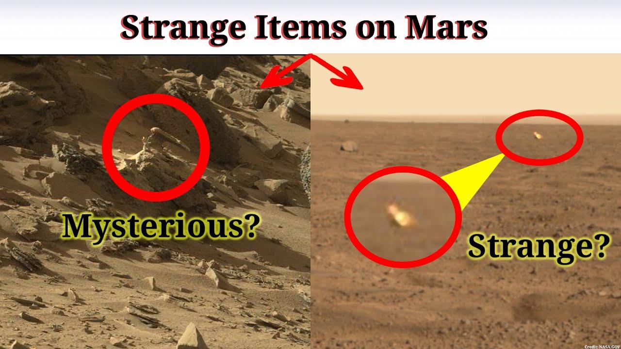 Download Martian Strange Items on Mars | Marte Phoenix Perseverance