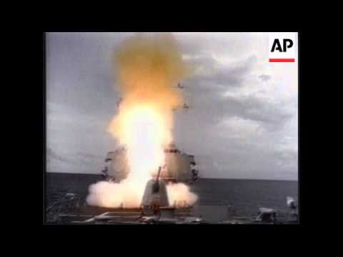 WORLDWIDE: DESTROYER USS COLE AT SEA: FILE (2)