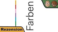 Farben- Brettspiel - Review