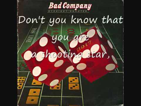 Bad Company - Shooting Star (Lyrics on Screen!)