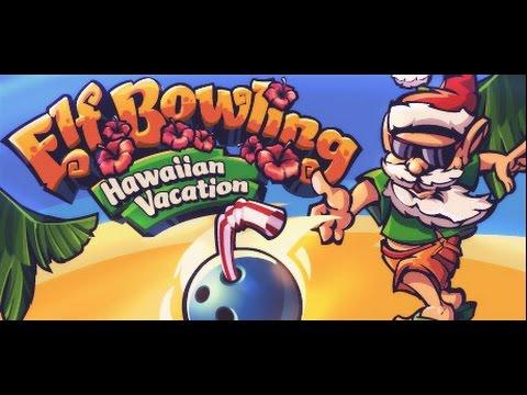 Elf Bowling: Hawaiian Vacation (PC) Game Play