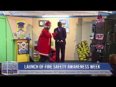 Launch of Fire Safety Awareness Week, October 7 2019