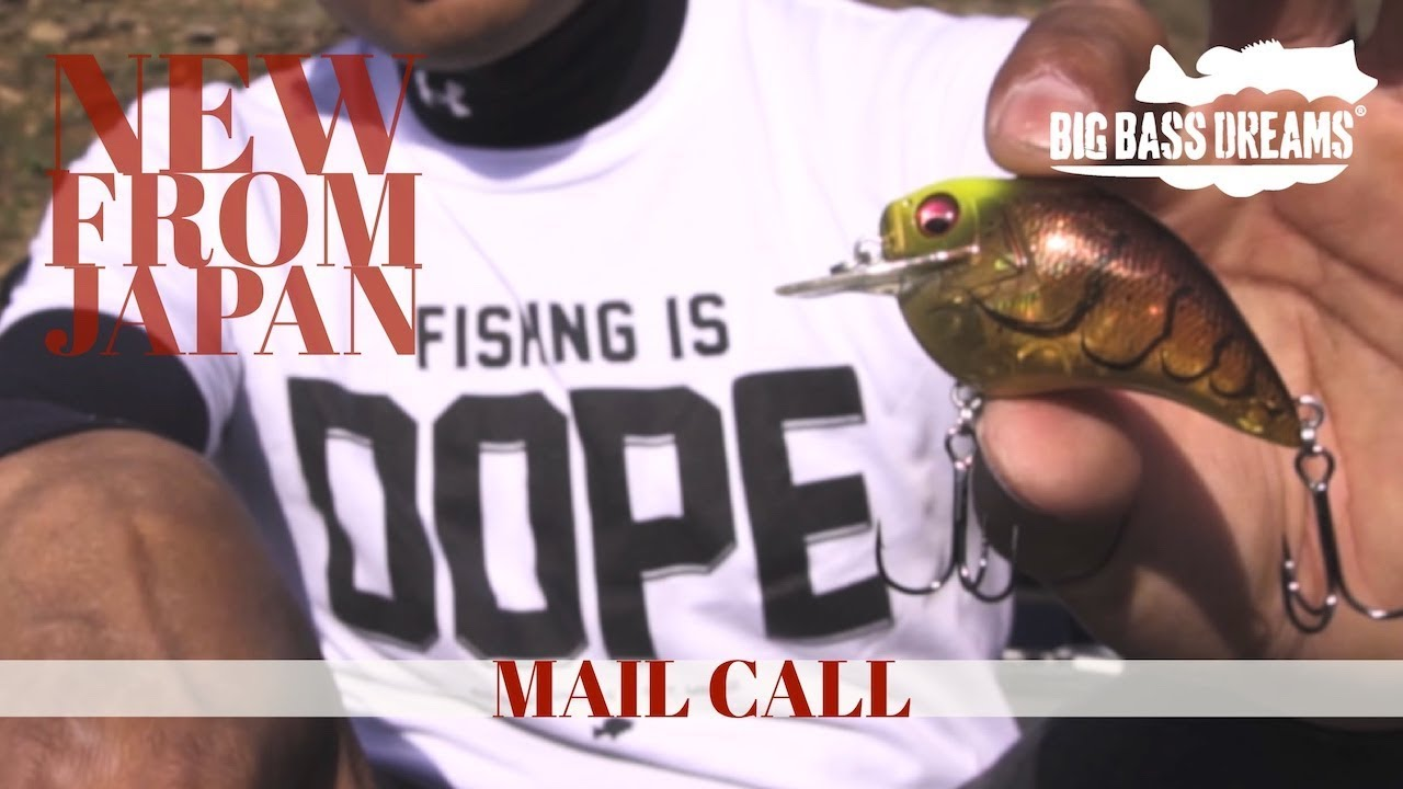 Megabass of Japan Mail Call - New Lures and Rods