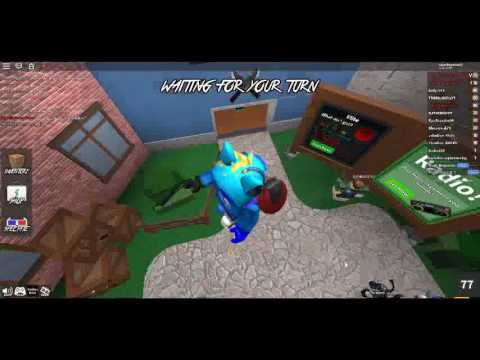 (Roblox Murder Mystery 2) Fly Hacking in MM2
