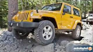 2012 Jeep Wrangler Test Drive & SUV Review