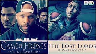 Game of Thrones Walkthrough Episode 2 - Part 5 - Ending (Telltale Games Gameplay)