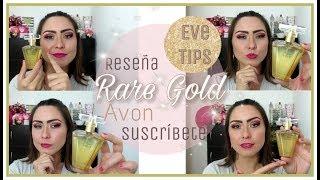 PERFUME RARE GOLD AVON RESEÑA/EVE TIPS