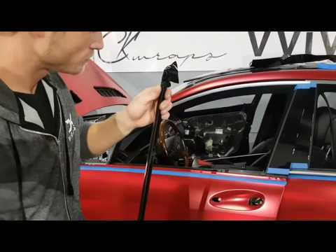 How to vinyl wrap chrome trim. Chrome trim delete using vinyl. By @ckwraps