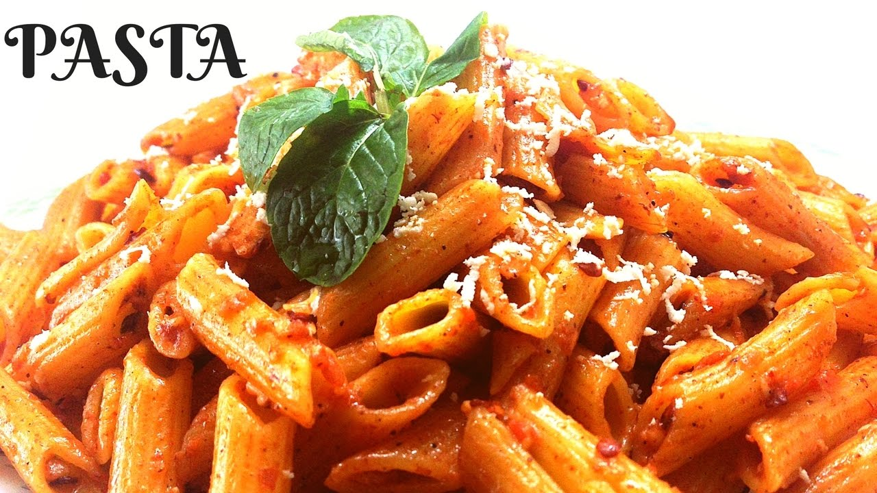 Pasta In Red Sauce Easy To Make Italian Style Pasta With