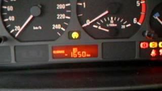 BMW E46 - 318d - HowTo reset Oilservice Information - Ölservice Zähler zurücksetzen