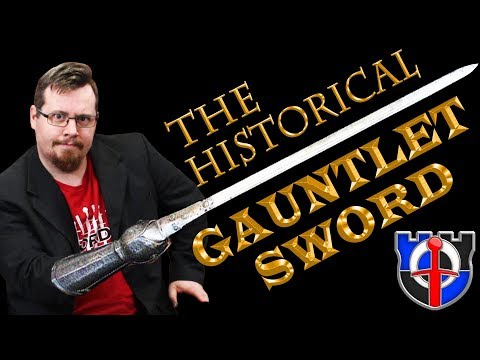 Underappreciated Historical Weapons: THE GAUNTLET SWORD / Pata