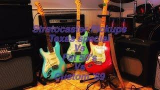 vuclip The Ultimate Fender Pickup Comparison: Texas Specials vs Fat 50's vs Custom '69