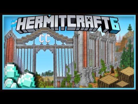 Hermitcraft Season 6: Epic ConCorp Gate Design & DIAMONDS!    (Minecraft 1.13.2 survival  Ep.40)