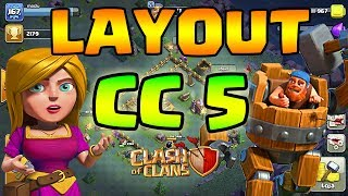 LAYOUT CC 5 - CASA DO CONSTRUTOR NÍVEL 05 - Clash of Clans