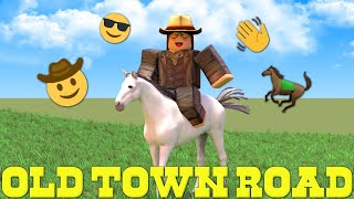 Old Town Road - Lil Nas X (Roblox Music Video)
