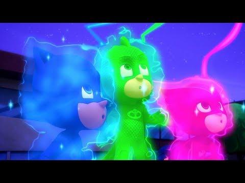 PJ Masks en Español 3 PJs! - Dibujos Animados