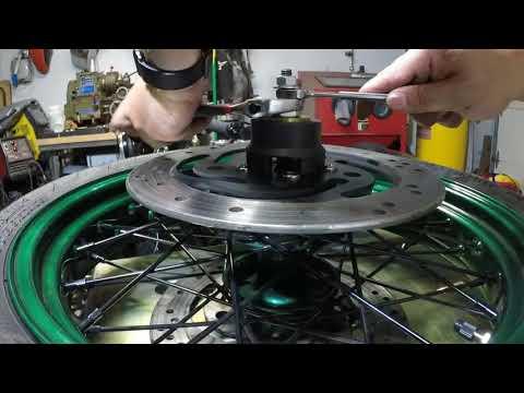 Pit Posse Harley Wheel Bearing Removal Install tool VT102 PULLER DEMO