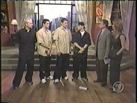 98 Degrees on Regis & Kathie Lee *I DO*