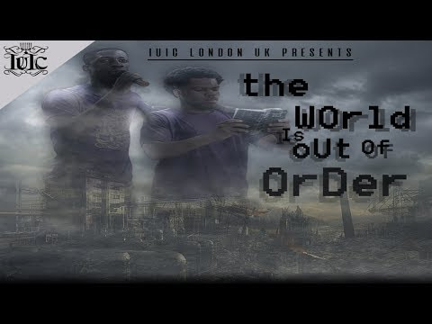 The Israelites: The World Is Out Of Order Black and Hispanic Man