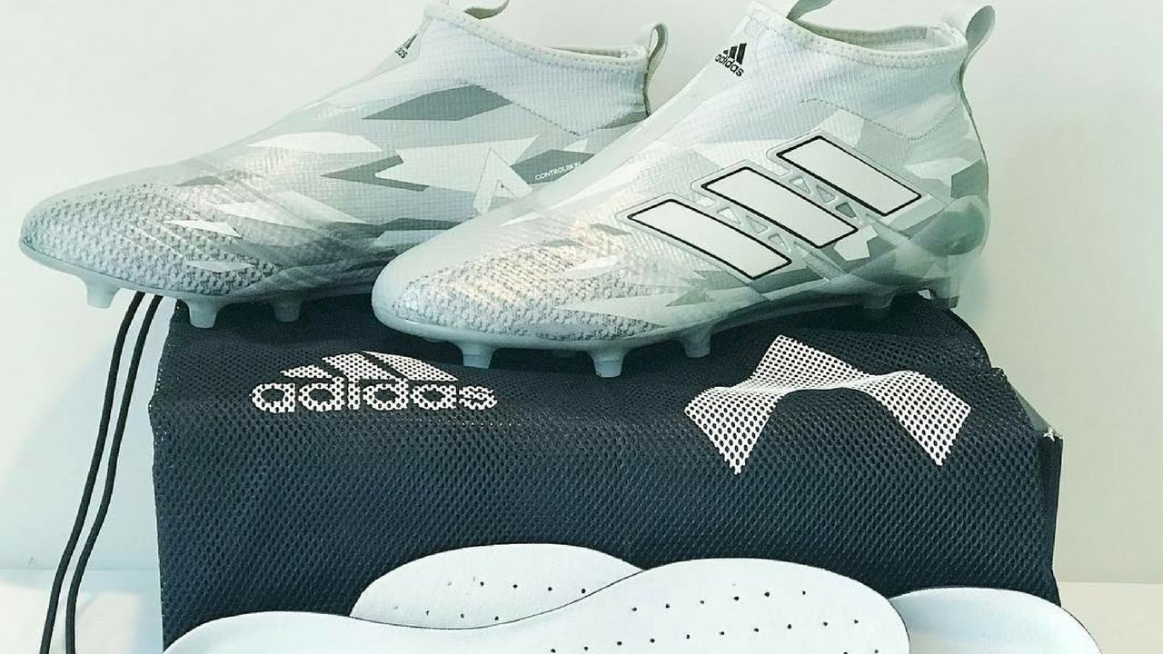 reputable site 8d75f b60b0 Adidas Ace 17+ Camouflage Pack Football Boot Unboxing - March 2017