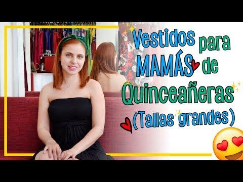 Vestidos Para Mamás De La Quinceañera Tallas Extra Ada Pelayo