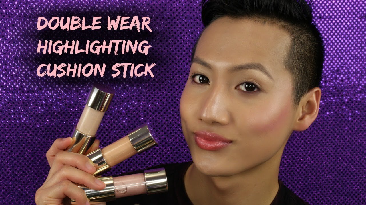 Estee Lauder Highlighting Cushion Stick Review Demo Hueyyrouge
