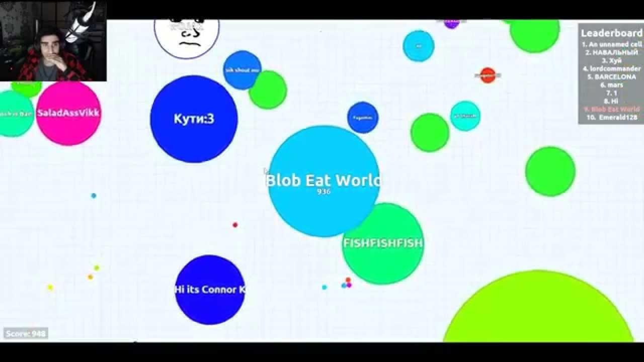 blob wars agar io game