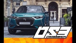 2019 DS 3 Crossback -   First look   Interior and Exterior   Español