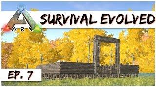 Ark Survival Evolved - Ep. 7 - Raptor Egg Barn! - Ark Server Gameplay - Let