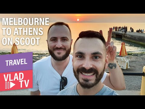 First Time Flying Scoot Melbourne To Athens (Review)