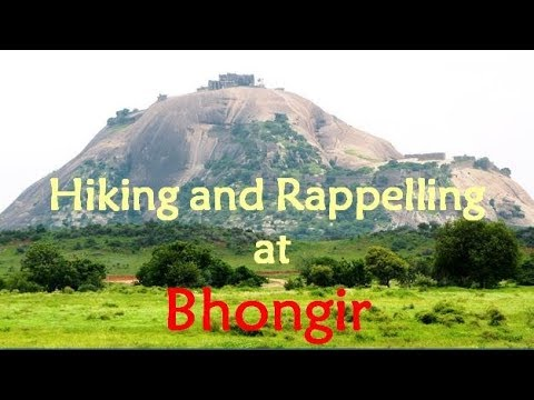Bhongir Fort | Hiking and 300 ft Rappelling | Adventure in Hyderabad