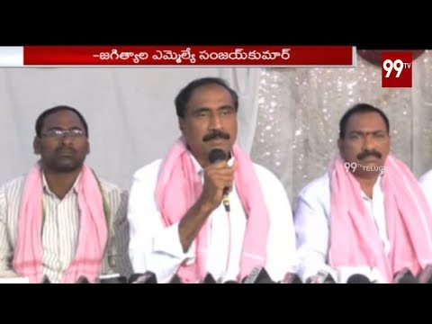 TRS Leader Sanjay Kumar Press Meet Over KTR Appointing as TRS working President | 99TV
