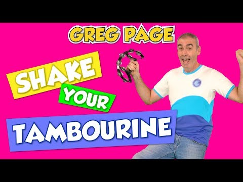 Greg Page - Shake Your Tambourine. New and fun original song for children (2018)
