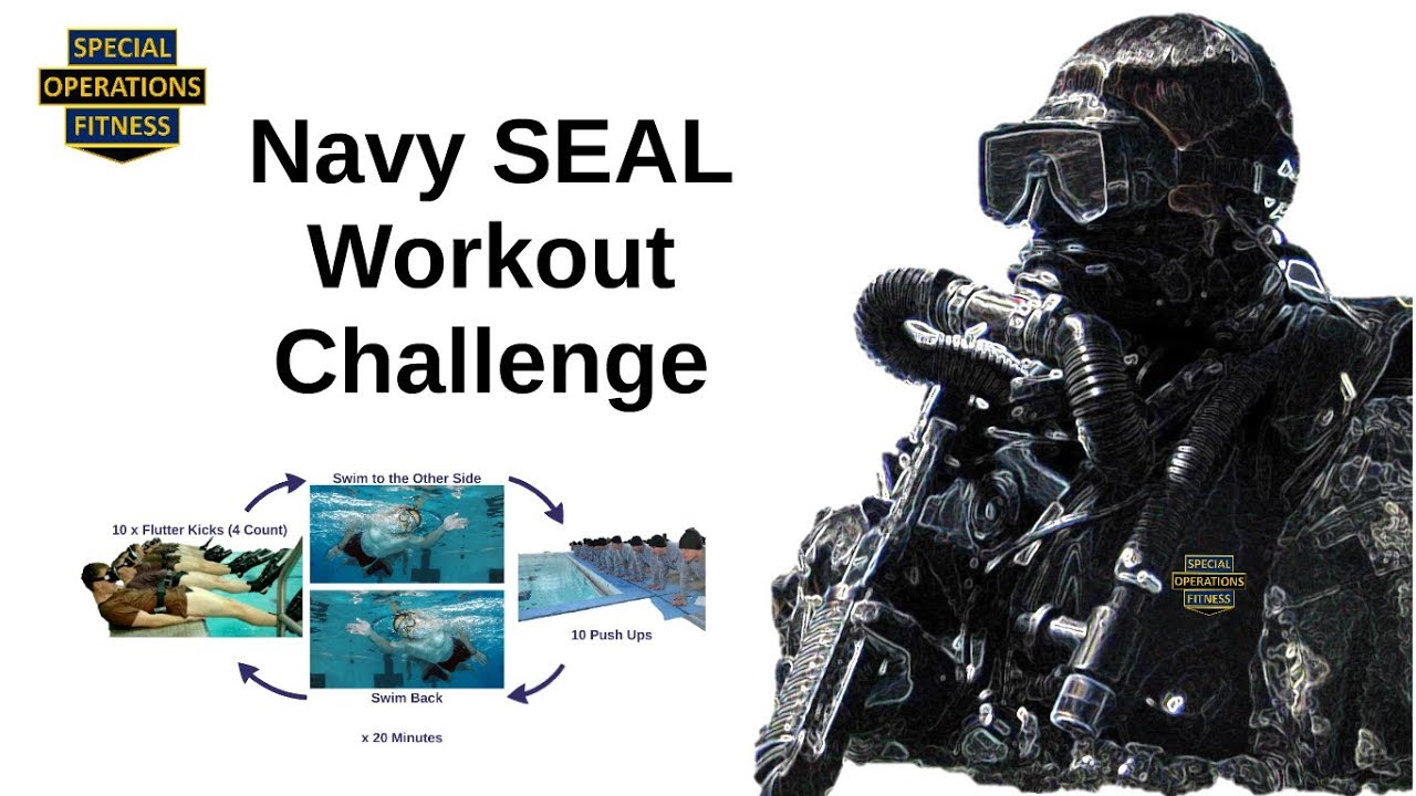 Navy Seal Workout Challenge Youtube