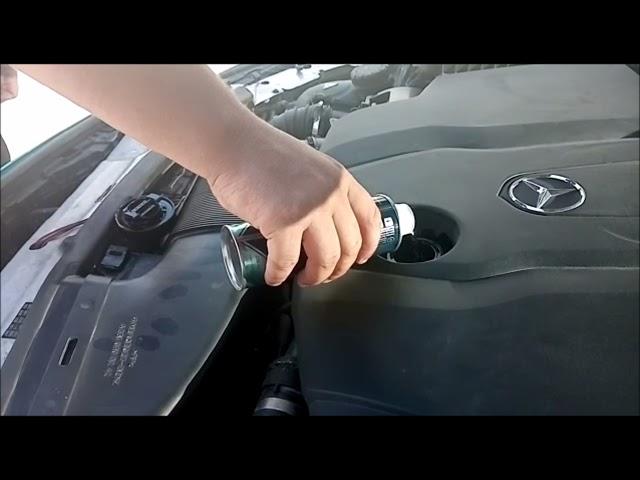 Trattamento Metalubs X CL e X Protect su Mercedes by Tcar-Garage