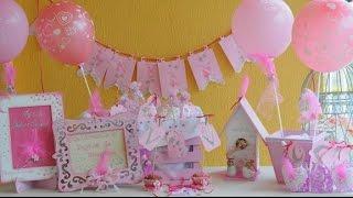 Ideas para baby shower de niña